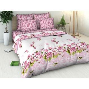 Купить Комплект постельного белья Василиса «Цветение персика». Евро