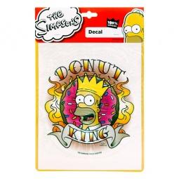 Купить Наклейка автомобильная The Simpsons SP-10327 Donut king