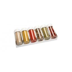 фото Набор емкостей для специй к выдвижному ящику Tescoma Season. Цвет: белый