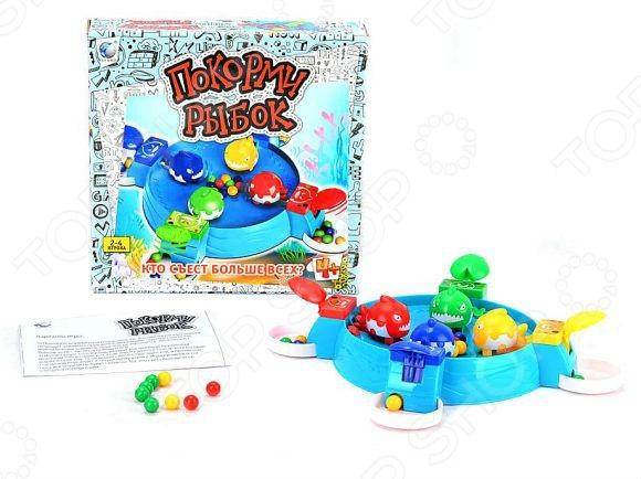 Игра настольная Shantou Gepai «Покорми рыбок» игры для малышей shantou gepai настольная игра балансирующая пицца