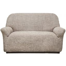 Натяжной чехол на двухместный диван «Виста. Иллюзия»