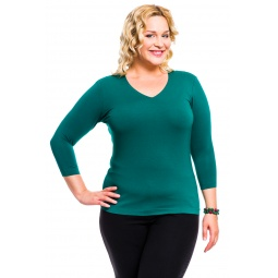 фото Кофта Mondigo XL 052. Цвет: темно-зеленый. Размер одежды: 48