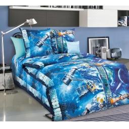 фото Детский комплект постельного белья Бамбино «Космос»