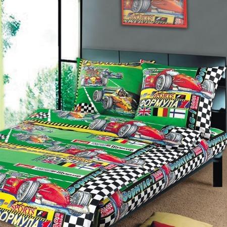 Купить Комплект постельного белья ТексДизайн «Формула». Детский