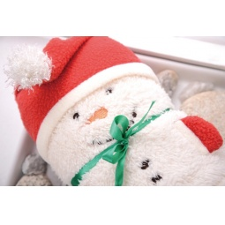 Купить Полотенце-плед 31 век «Снеговик». В ассортименте