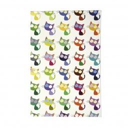 фото Обложка для паспорта Mitya Veselkov «Цветные кошки в ряд»