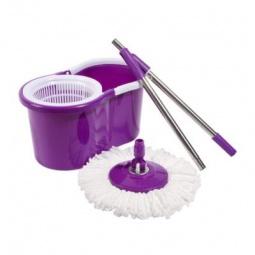 фото Комплект для уборки полов: швабра, ведро с отжимом Irit IRL-03