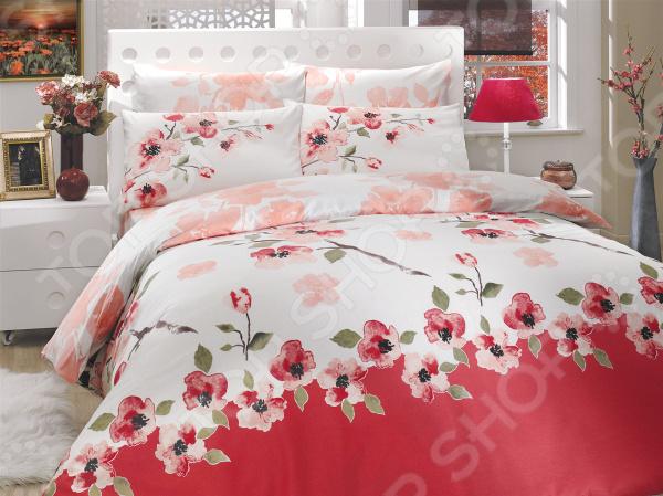 Комплект постельного белья Hobby Rosalinda. Цвет: розовый. 1,5-спальный1,5-спальные<br>Треть своей жизни мы проводим во сне и непозволительно доверить этот процесс обычному пледу или одеялу. Внешний вид, самочувствие и настроение человека напрямую зависит от хорошего сна, на который влияют многие факторы, в том числе качество постельного белья. К его выбору следует подойти со всей серьезностью, так как это одна из тех самых важных мелочей, от которой зависит здоровый отдых. Компания домашнего текстиля Hobby производит качественное постельное белье самых различных цветовых гамм и стилей, благодаря чему вы можете обустроить свою спальню на свой вкус. Какое постельное белье выбрать Комплект постельного белья Hobby Rosalinda лучшее решение для вашей спальни! Белье сочетает идеальное соотношение уюта и комфорта, которые создадут атмосферу нирваны и покоя. Материал нежно прикасается к коже, от чего пробуждение на этом комплекте будет комфортным и приятным. Цвета комплекта подобраны таким образом, чтобы идеально гармонировать с любым стилем интерьера. Этом комплект подчеркнет дизайн вашей спальни и будет выгодно смотреться в любой цветовой гамме.  Лучшая ткань для приятных сновидений Эта коллекция специально разработана для современных и энергичных людей, которые оценят неповторимые свойства ткани. Постельное белье выполнено из ранфорса 100 хлопка, который значительно практичнее льна. Это натуральный материал, который способен подстраиваться под температуру воздуха в помещении. Комплект постельного белья обладает следующими достоинствами:  особая технология переплетения разных видов волокон, благодаря чему ткань становится очень прочной;  зимой белье отлично греет, а летом приятно охлаждает кожу;  натуральные материалы экологичны и гипоаллергенны, благодаря чему является отличным решением для детей и аллергиков;  высокая гигроскопичность ткани сделает сон более комфортным;  воздух беспрепятственно циркулирует сквозь полотно;  рисунок, нанесенный на ткань методом печати, по