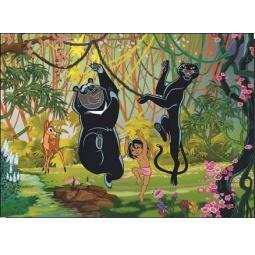 Купить Пазл 260 элементов Castorland Маугли «Весна в джунглях»