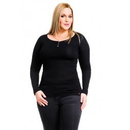 фото Кофта Mondigo XL 8494. Цвет: черный. Размер одежды: 48