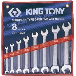 Купить Набор ключей рожковых King Tony KT-1108MR