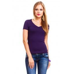 фото Футболка Mondigo XL 056. Цвет: темно-фиолетовый. Размер одежды: 48