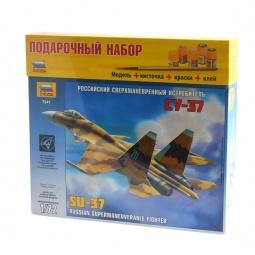 """фото Подарочный набор Звезда самолет """"Су-37"""""""