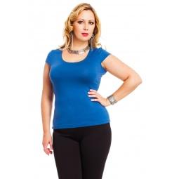 фото Футболка Mondigo XL 7001. Цвет: джинсовый. Размер одежды: 50