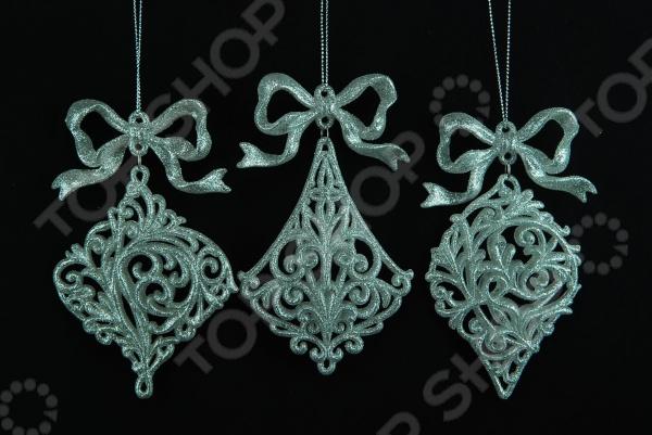 Елочное украшение Crystal Deco «Подвеска». В ассортименте