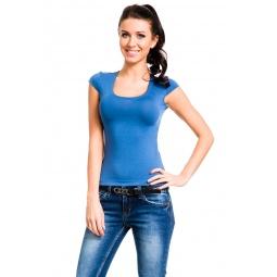 фото Футболка Mondigo 7001. Цвет: джинсовый. Размер одежды: 42