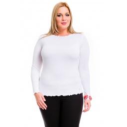 фото Кофта Mondigo XL 1470. Цвет: белый. Размер одежды: 52