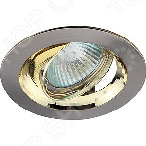 Светильник встраиваемый потолочный Эра KL29 А SN/G светильник потолочный эра kl led 5