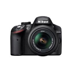 фото Фотокамера цифровая Nikon D3200 Kit 18-55 VR. Цвет: черный