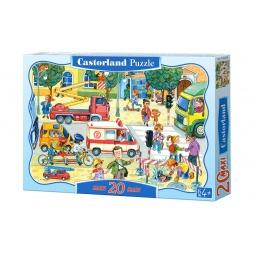 Купить Пазл 20 элементов Castorland «Город»