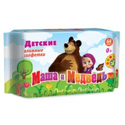 фото Салфетки влажные для детей Маша и Медведь №64
