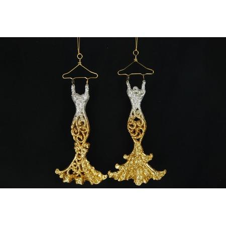 Купить Елочное украшение Crystal Deco «Платье» 1707589. В ассортименте