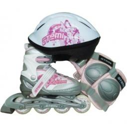 Купить Роликовые коньки с комплектом защиты и шлемом ATEMI AJIS-09 girl set-3