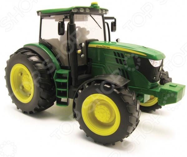 Трактор Tomy 6210R игровые наборы tomy игровой набор приключения трактора джонни и лошади на ферме