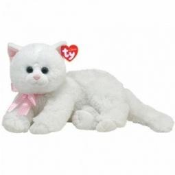 фото Мягкая игрушка TY Кошка CRYSTAL. Длина: 33 см