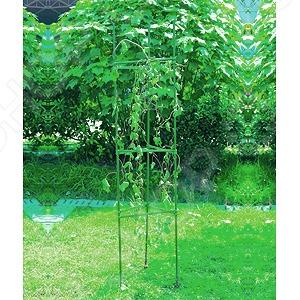 Опора для томатов с сеткой Green Apple GTCY комплект для вьющихся растений green apple glscl 2 сборный с сеткой 0 9 х 1 8 м