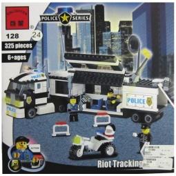фото Конструктор игровой Brick «Полицейский участок» 1717089