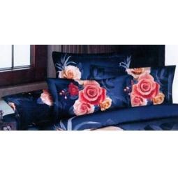 фото Подушки декоративные Матекс «Комлект «Роза». Цвет: синий
