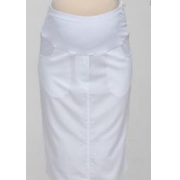 Купить Юбка для беременных Nuova Vita 6117.2. Цвет: белый