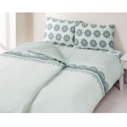фото Комплект постельного белья TAC Elis. 1,5-спальный. Цвет: серый