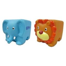 фото Набор игрушек для ребенка Жирафики «Кубарики. Джунгли»