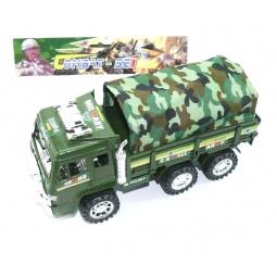 фото Машинка инерционная Shantou Gepai «Грузовик военный с тентом»