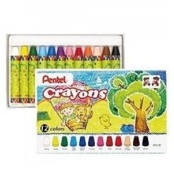 фото Набор мелков восковых Pentel Crayons: 12 предметов