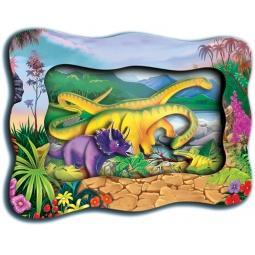 фото Картинка объемная Vizzle «Динозаврики»