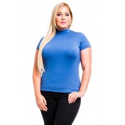 фото Водолазка Mondigo XL 216. Цвет: джинсовый. Размер одежды: 50