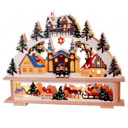 фото Декорация с подсветкой Star Trading 270-19 «Лесной город»