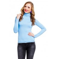 фото Водолазка Mondigo 046. Цвет: голубой. Размер одежды: 44