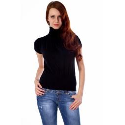 фото Свитер вязаный Mondigo 9757. Цвет: черный. Размер одежды: 44