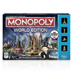 фото Настольная игра Hasbro «Всемирная монополия» B2348