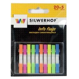 Купить Набор стикеров-закладок Silwerhof 801017
