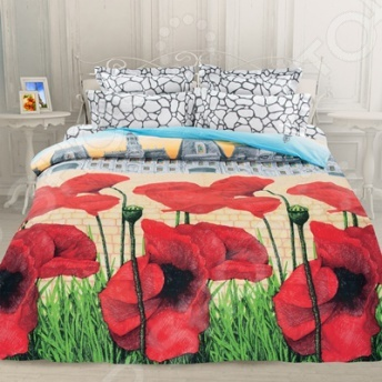 Комплект постельного белья Унисон «Французская сказка» унисон постельное белье 1 5 летиция унисон биоматин