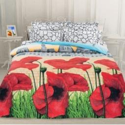 фото Комплект постельного белья Унисон «Французская сказка». 1,5-спальный. Размер наволочки: 50х70 — 2 шт
