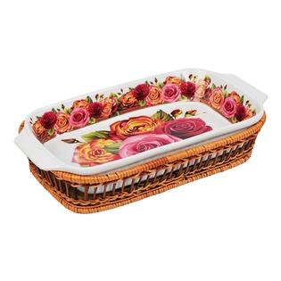Купить Форма для запекания керамическая Mayer&Boch «Розы» MB-24805