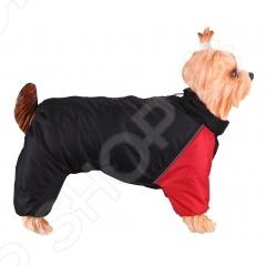Комбинезон-дождевик для собак DEZZIE «Английский бульдог» комбинезон дождевик для собак dezzie французский бульдог