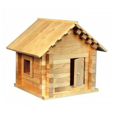 Купить Конструктор деревянный Теремок «Избушка Теремок»