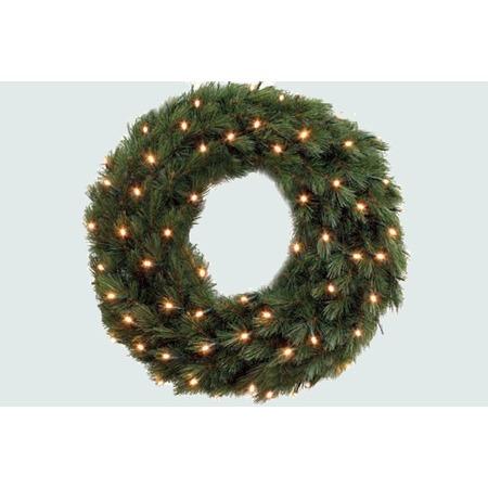 Купить Венок новогодний Triumph с LED лампами «Лесная красавица»